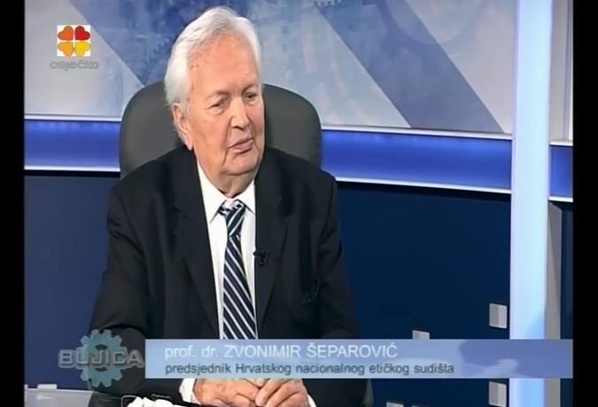 zvonimir šeparović bujica pupovac vesna teršelič Predsjednik Hrvatskog nacionalnog etičkog sudišta