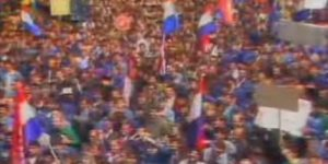 6. svibnja 1991. split prosvjed ispred banovine
