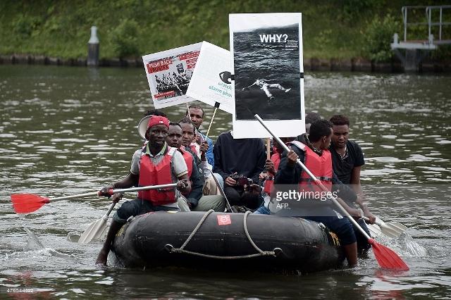 imigranti brod strasbourg ljevičari