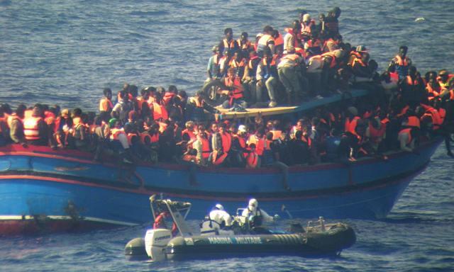 imigranti sredozemlje libija italija