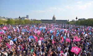 rim prosvjed homoseksualni brak rodna ideologija