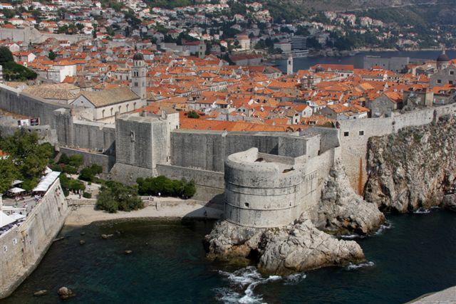 dubrovnik dubrovačke zidine