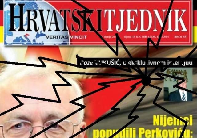 hrvatski tjednik napad