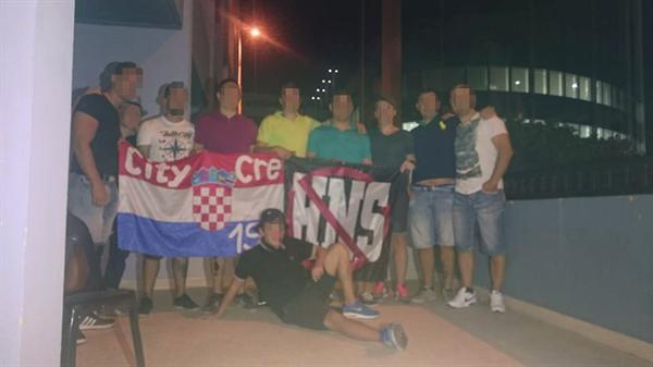 hrvatski navijači malta