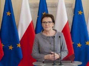 poljska vlada zastave europske unije