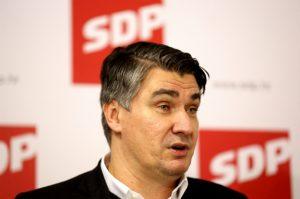 hčsp zoran milanović sdp socijaldemokratska partija komunistička partija