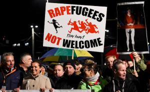 leipzig prosvjed imigranti