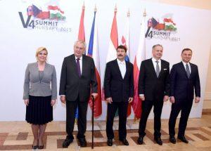višegradska skupina hrvatska