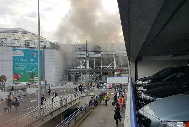 eksplozije bombe Bruxelles