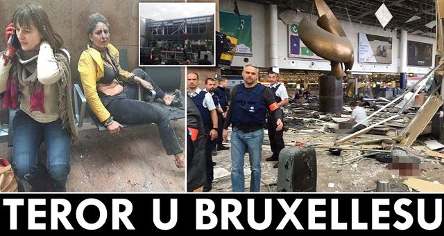 bruxelles napad
