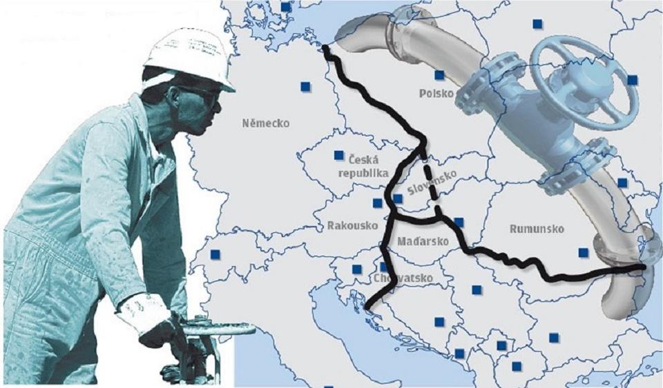 slovačka plinovod lng baltik jadran