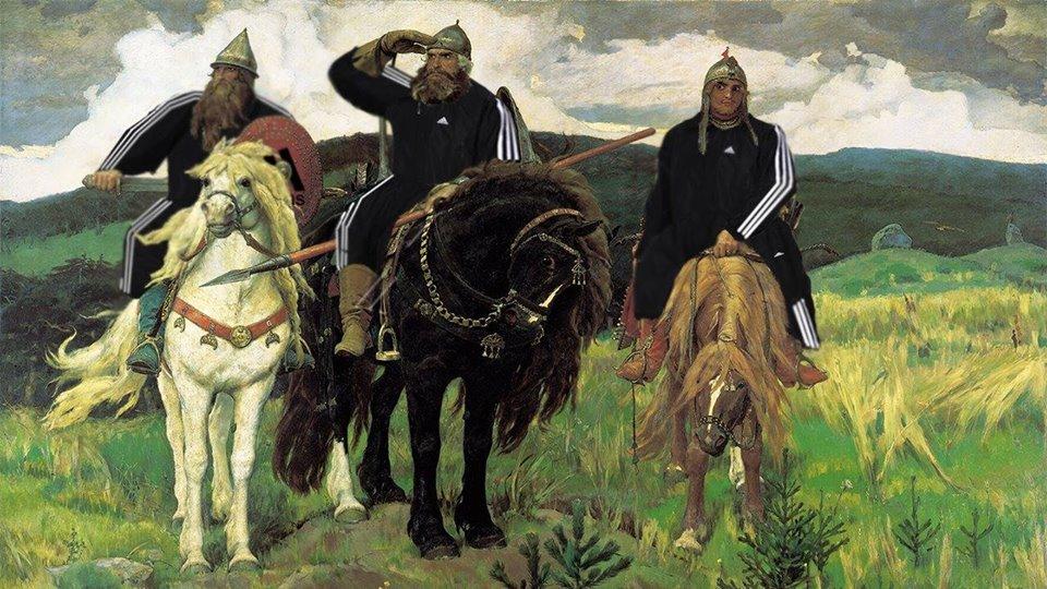 "izvor: Facebook, ""Squatting Slavs In Tracksuits"""