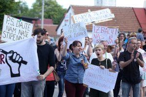 prosvjed stipendistice