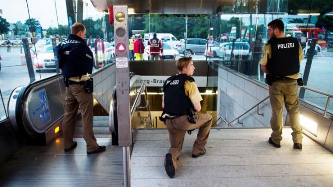 munchen njemačka teroristički napad