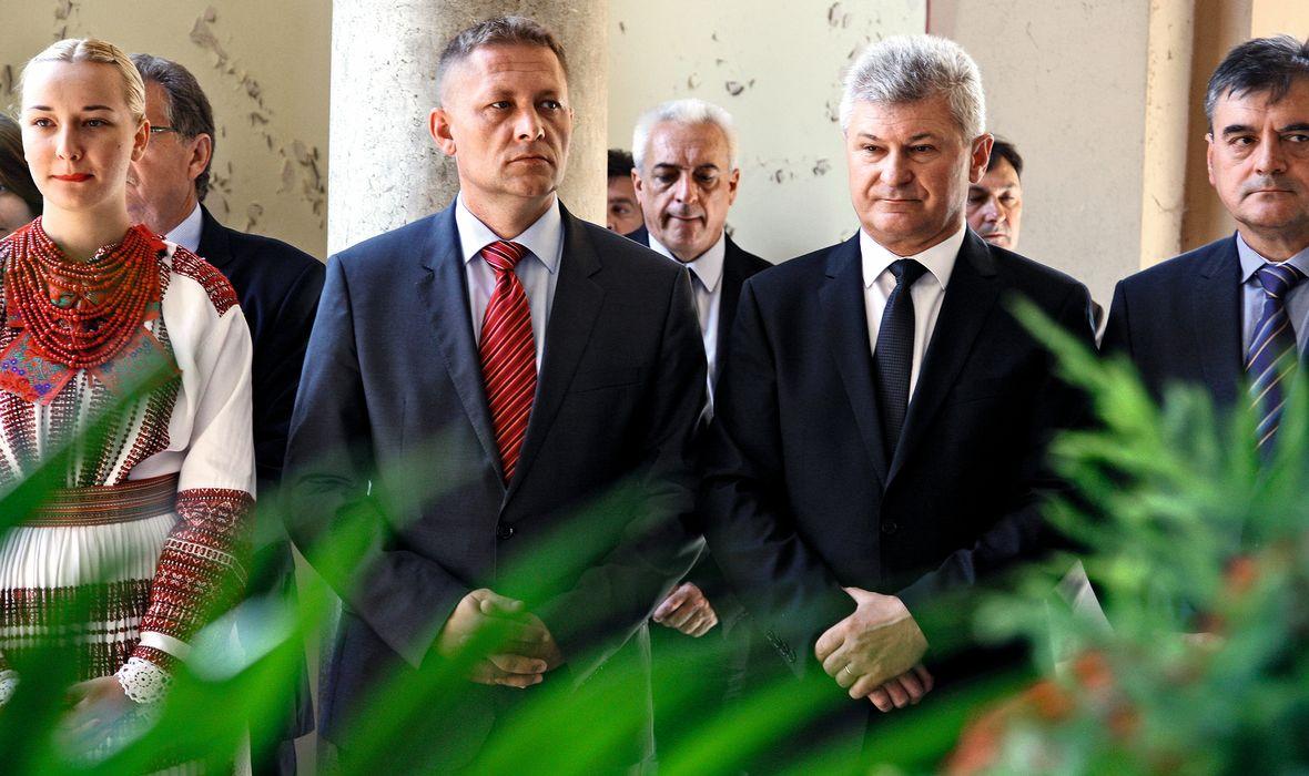 Krešo Beljak i Branko Hrg