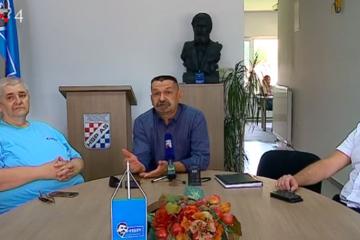 Anto Đapić, Pero Ćorić i Dean Golubić