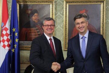 plenković orešković primopredaja