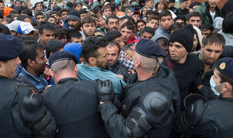 imigranti srpska granica