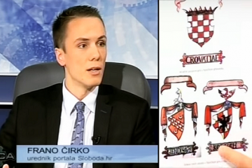 frano čirko, bujica, laslovo, hrvatski povijesni grb, zastava, sloboda.hr