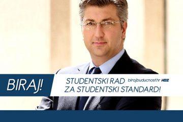 hdz, plenković, studenti, porez