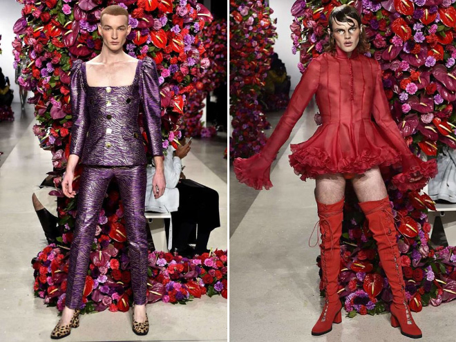 homoseksualci, rodna ideologija, new york fashion week
