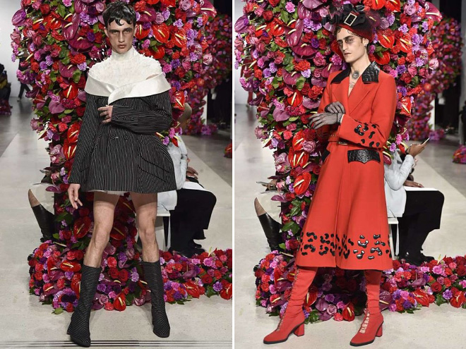 homoseksualci, rodna ideologija, new york fashion week