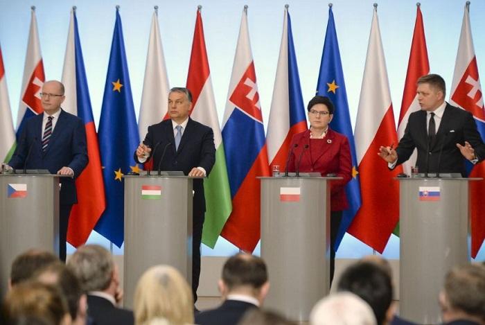 višegradska skupina, imigranti, eu, europska unija