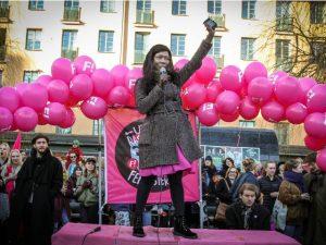 švedska, feministica, feminizam, islam