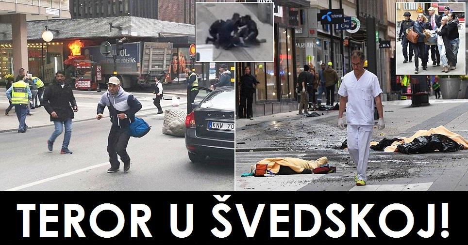 švedska, stockholm, teroristički napad, teroristi