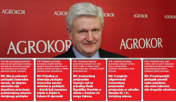 lex agrokor, agrokor, zakon