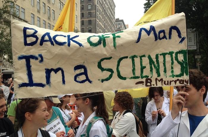 marš za znanost, znanstvenik