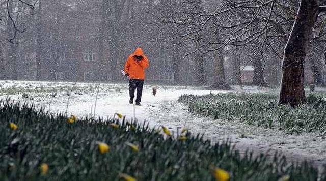snijeg, uskrs, vrijeme