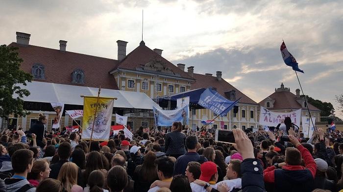 vukovar, susret hrvatske katoličke mladeži,  2017