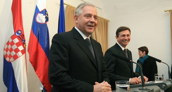 sanader, slovenija, slovenci