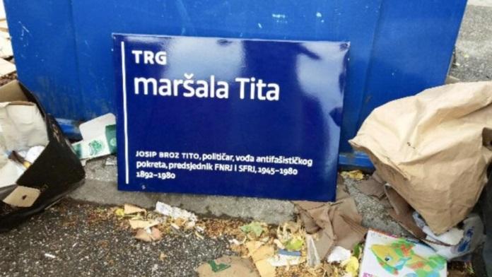 trg maršala tita, tito, nino raspudić