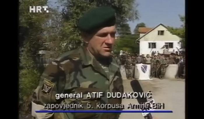 atif dudaković, armija bih, 5. korpus, oluja, agresija na bih