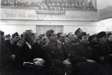 prvo zasjedanje avnoja, bihać, partizani, ndh, komunist, moše pijade