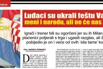 Marko Perković Thompson, intervju, vatreni, trg, doček