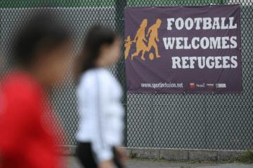imigranti, migranti, njemačka, nogometni turnir, antifa