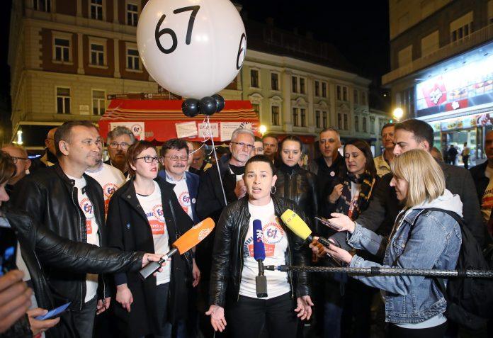 """Iz inicijative """"67 je previše"""" tvrde da su skupili preko 600.000 potpisa"""