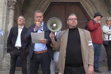 njemačka, migranti, antifašisti, afd