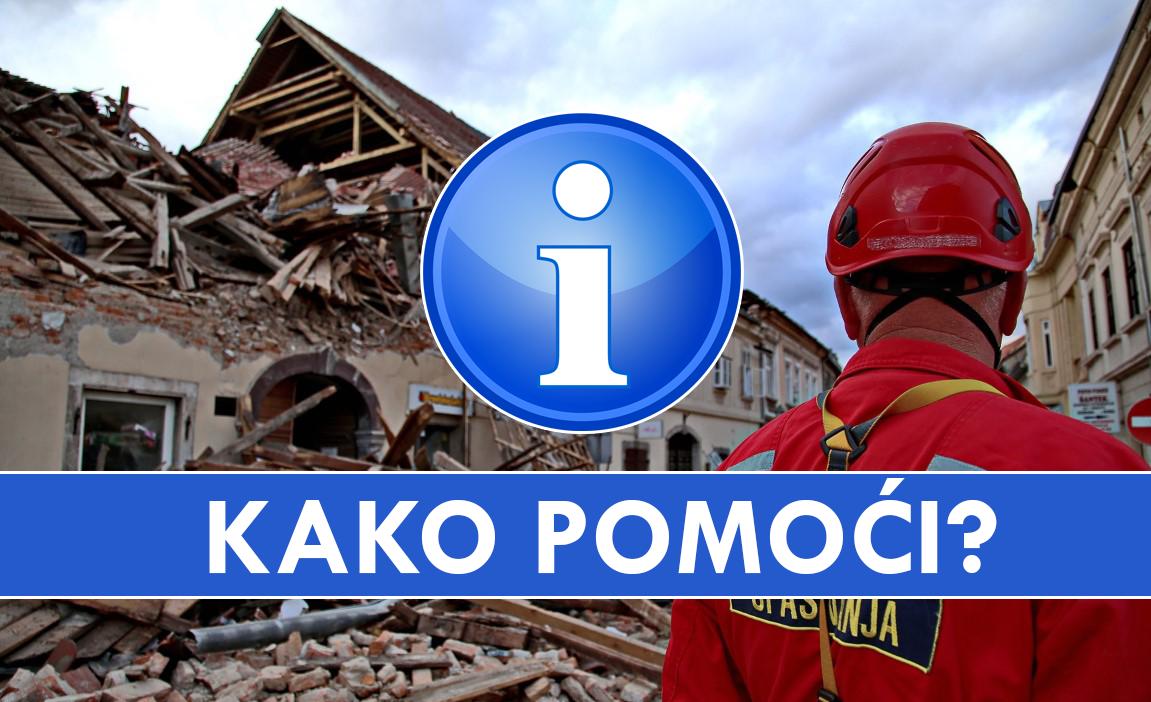 petrinja potres pomoć